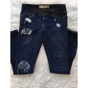 Abercrombie | Perfect Stretch Distressed Jeans